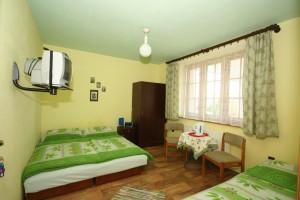 komfortowe pokoje 3 osobowe z TV Łeba